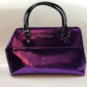 NEW Younique Metallic Purple Presenters Bag